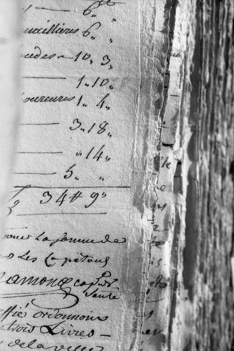 Photographie argentique 24x36 réalisée aux Archives de Toulouse