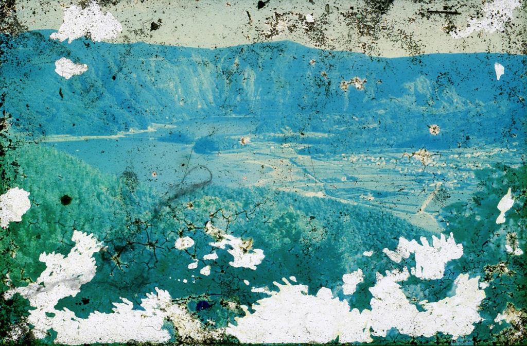 Diapositive des Açores trouvée au Portugal sur la Rota Vicentina